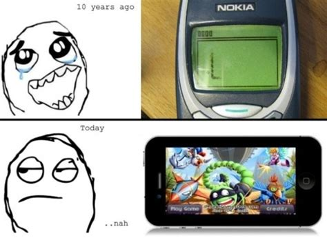 Nokia Phones Meme - nokia vs iphone meme