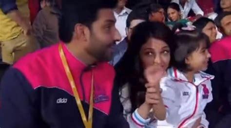 video game aishwarya rai aaradhya bachchan enjoys game time with mom aishwarya and