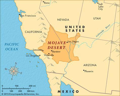 deserts map image gallery mojave desert map