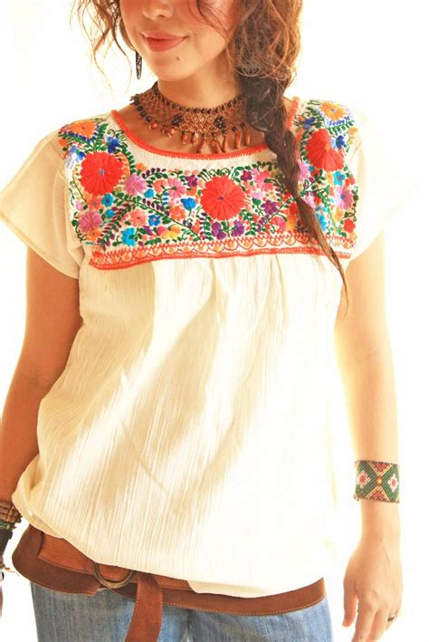Handmade Mexican Embroidered Dresses - handmade mexican embroidered dresses and vintage treasures