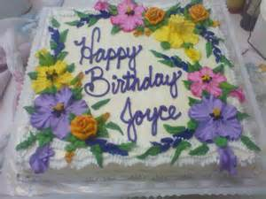 happy birthday joyce cakecentral com