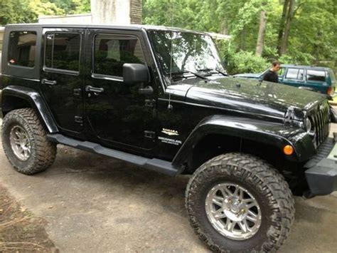 2009 Jeep Wrangler 4 Door by Find Used 2009 Jeep Wrangler Unlimited Black Navigation Loaded Hardtop 4 Door 3 8l In