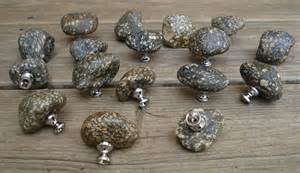 Rock Cabinet Knobs by River Rock Knobs Rock Knobs Knobs Granite Knobs