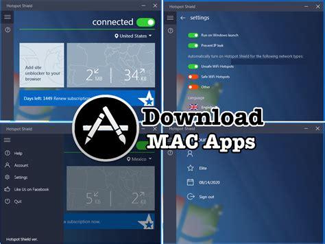 hotspot shield full version free download for mac hotspot shield vpn elite 7 1 2 crack latest 2017