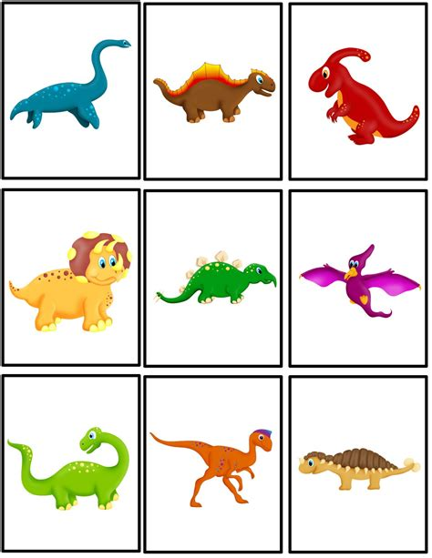 printable dinosaur numbers free dinosaur matching packet preschool powol packets