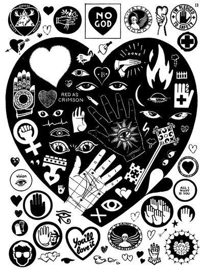 tattoo flash zine 13 best crap hound images images on pinterest glitter