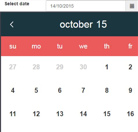 javascript date format exle code javascript date a pure js date picker datepickk with