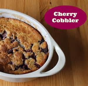 cherry cobbler i recipe dishmaps
