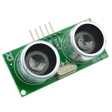 Sensor Ultrasonick us 100 ultrasonic sensor module with temperature compensation range ebay