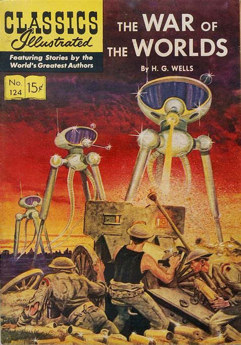 the war of the worlds books ink science fiction classics illustrated