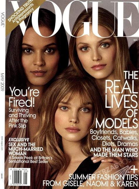 Vogues May 2007 Cover by Vogue O Ani Jagodzińskiej