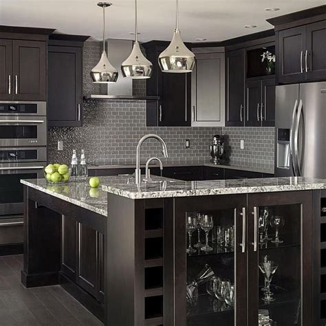 Black Cupboards Kitchen Ideas Best 25 Black Kitchen Cabinets Ideas On Pinterest Black