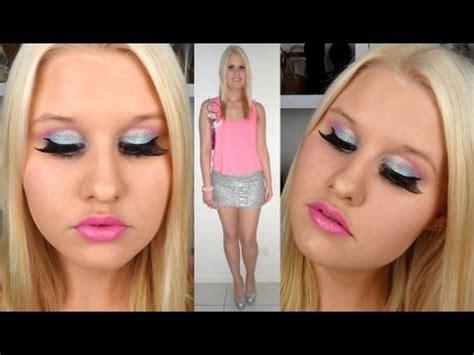tutorial makeup natural barbie barbie halloween tutorial makeup and outfit youtube