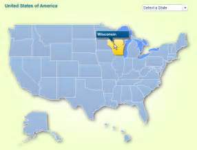 us map of states interactive u s state map