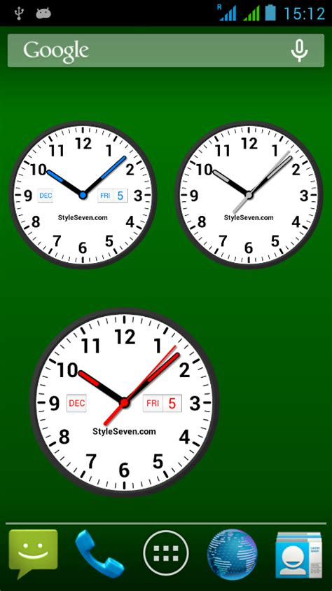 analog clock widgets for android analog clock widget plus 7 android apps on play