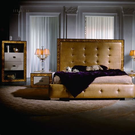 crystal bedroom luxury home furniture factory and high end customized