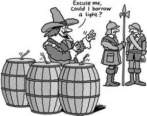 Old Toaster Gunpowder Plot Fail People Politics Caricature