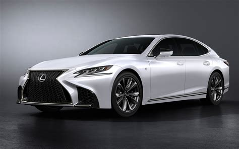 lexus wallpaper 2018 lexus ls 500 f sport wallpapers hd wallpapers id