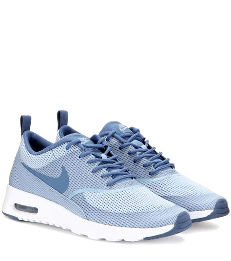 nike sneakers nike air max thea txt sneakers in blue lyst