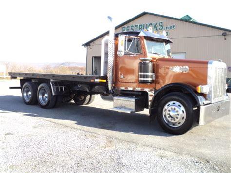 flat bed trucks for sale peterbilt flatbed truck for sale 9159