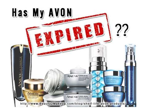 Avon Lipstick Expiry Date shelf of avon products how will your avon last