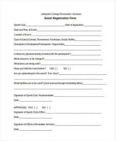 Player Registration Form Template by Doc 10201320 Sign Up Form Template Word Event