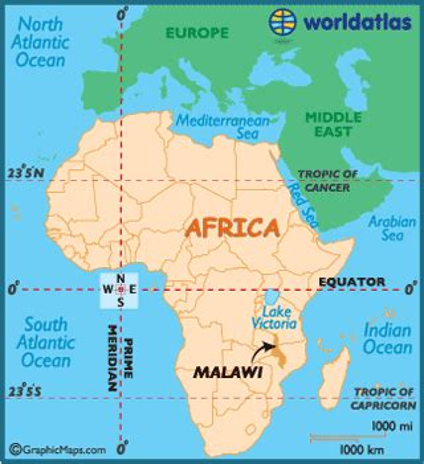 geographical map of malawi malawi map geography of malawi map of malawi