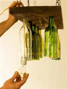Diy Bottle Chandelier How To Make A Chandelier From Wine Bottles How Tos Diy