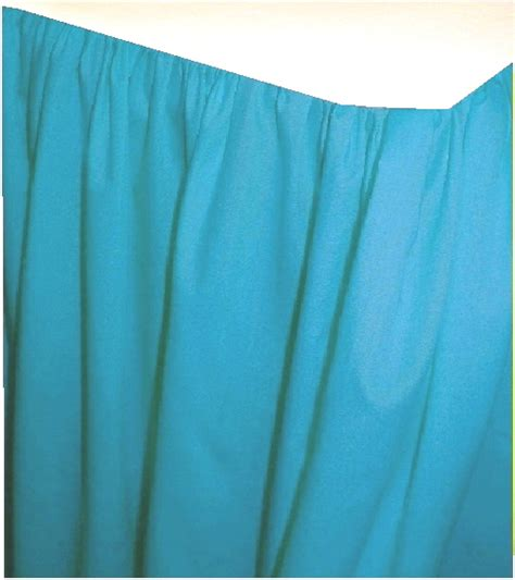 Turquoise Swag Curtains Solid Turquoise Colored Swag Window Valance Optional