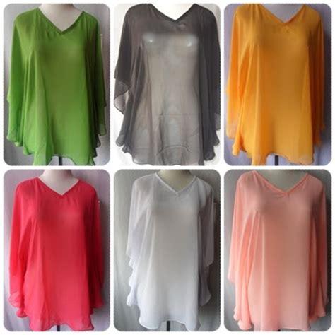 Blouse Olla Jersy blouse cifon murah grosir baju murah tanah abang