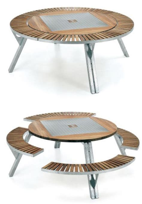 multifunctional furniture gargantua multifunctional garden table this is amazing