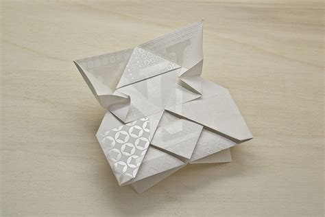 Origami Invitation - louis vuitton invitation origami new grids