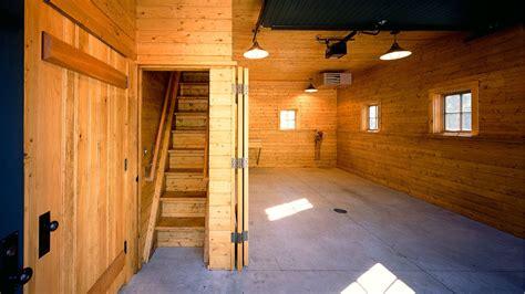 Garage With Loft Storage Barns A Amp H Architecture