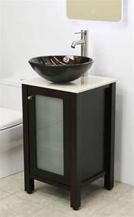 bathroom vanity height with vessel sink bathroom vanity sink set cabinet 19 quot windbay vessel sink