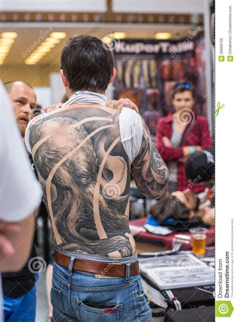 tattoo convention june 2015 participants at 10 th international tattoo convention in