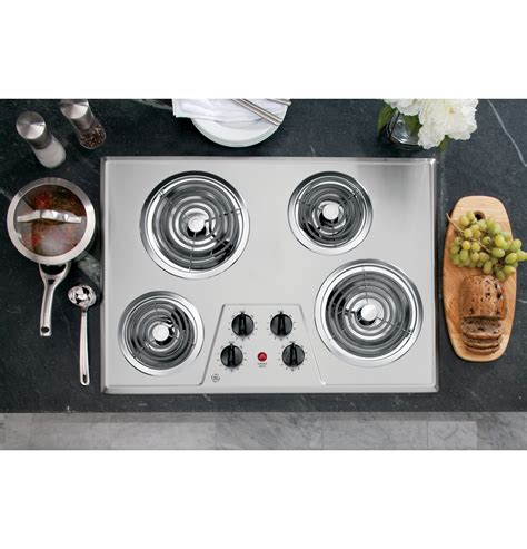 general electric gas cooktop ge 174 30 quot built in electric cooktop jp328skss ge appliances