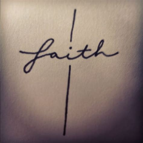 tattoo pen and paper faith cross tattoo design by erica castilaw pen on paper