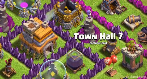 clash of clans town hall town hall 7 driverlayer search engine