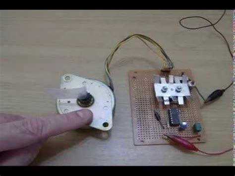 diy stepper motor controller stepper motor simple diy