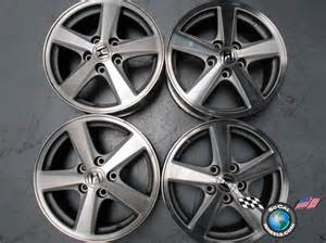 four 03 05 honda accord factory 16 quot machined wheels