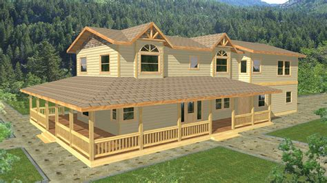 Ranch House Floor Plans With Wrap Around Porch House Plans With Wraparound Porch Builderhouseplans Com