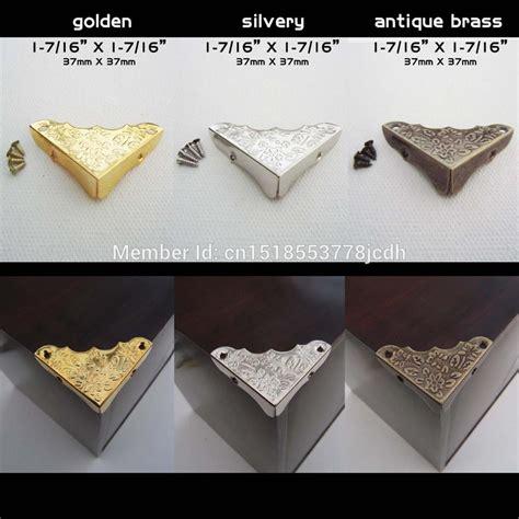 decorative table corner covers aliexpress com buy 12pc metal decorative jewelry chest