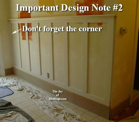 after tall craftsman wainscoting diningroom trae taylor the joy of moldings com diy shaker style wainscoting t