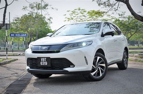 test drive review toyota harrier autoworldcommy