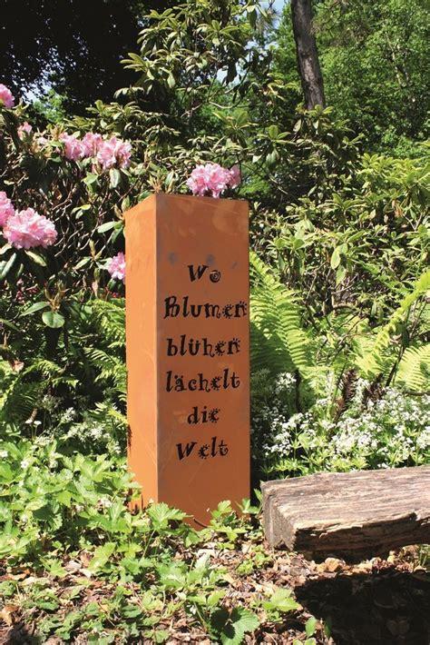 Garten Deko Metall Rost by Die 25 Besten Ideen Zu Gartendeko Rost Auf
