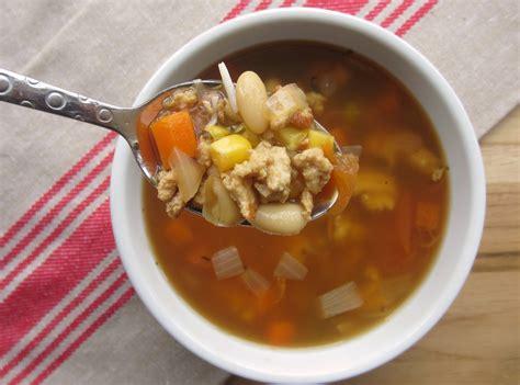 healthy turkey soup recipe lean turkey vegetable soup in