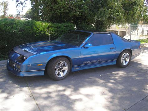 Blue For Sale by Blue 87 Iroc Z28 5 7 For Sale Third Generation F