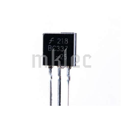 transistor bc337 npn bc337 npn to 92 lifier transistor