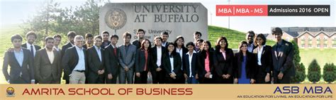 Mite Mba Fees by Amrita School Of Business Bangalore Asb Bangalore