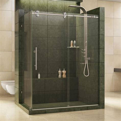 shower door home depot dreamline enigma 36 in x 60 1 2 in x 79 in fully